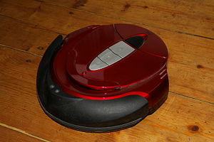 Robotic vacuum cleaner - A robot cleaner