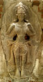 Relief of Vishnu at Madhavadhara Temple 01.jpg