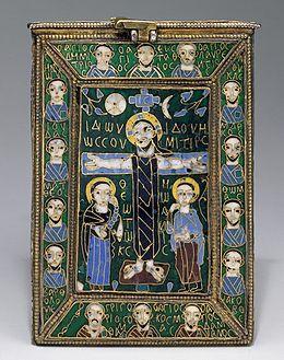 Symboles ou emblèmes des religions 260px-Reliquary_True_Cross_c800_Byzantine