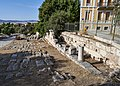 Remains of the southeast stoa in the Ancient Agora of Athens on September 27, 2020.jpg