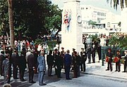 Rembrance Day Parade Bermuda