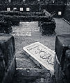 Remnants of the South Gate of Kowloon Walled City, Kowloon Walled City stone plaque (Hong Kong).jpg