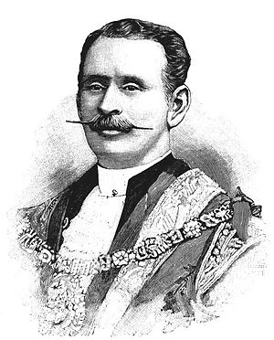 Renals baronets - Sir Joseph Renals in 1895.
