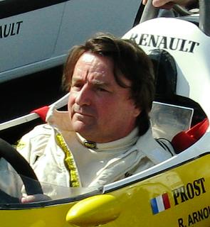 René Arnoux French racecar driver