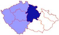 Poloha královéhradecké diecéze v rámci české církevní provincie