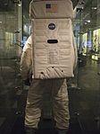 Replica Apollo spacesuit back 2014 Exhibit at Chemical Heritage Foundation DSCF0488.jpg