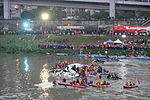 Rescue Team Searching Crashed B-22816 in Keelung River 20150204k2.jpg