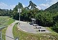 Rest area near Santa Lucia suspension bridge 01.jpg