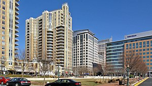 Reston Town Center - High rises in Reston Town Center