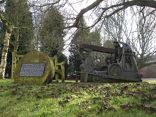 Restored Hammer and Grindstone on the Green at Belbroughton, Worcs - geograph.org.uk - 1726815