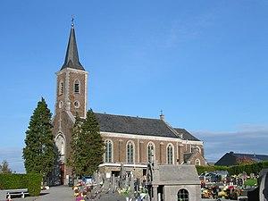 Retinne - Image: Retinne église Ste Julienne 3