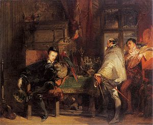 Troubadour style - Richard Parkes Bonington, Henri III of France