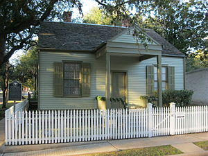 Richmond, Texas - Image: Richmond TX Long Smith Cottage