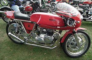 Rickman Motorcycles - Rickman Triumph Cafe racer