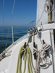 Rigging, sailing