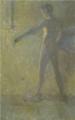Rihard Jakopič - Stoječi moški akt I.png