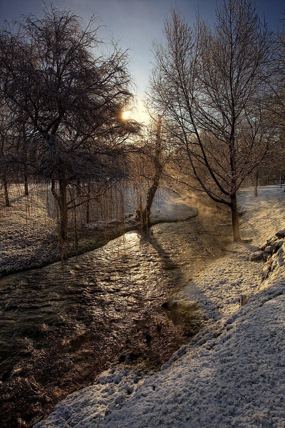 Rio Sarela, Santiago de Compostela, Galiza