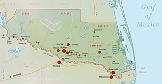 Rio Grande Valley - Geographic and administrative Overview