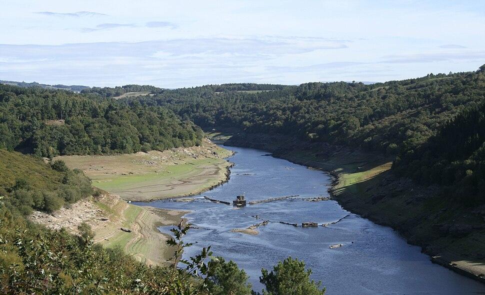 Río Miño en Portomarín