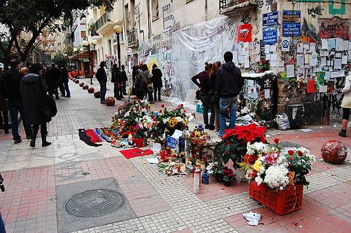 Gedenken an den getöteten Alexandros Grigoropoulos