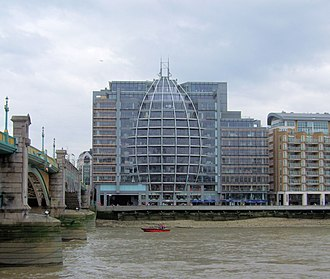 Ofcom - Ofcom offices at Riverside House, Bankside, next to Southwark Bridge