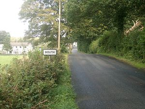 Bouth - Road into Bouth