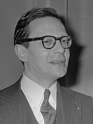 Robert Marjolin - Image: Robert Marjolin (1964)