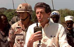Robert B. Oakley - Robert Oakley in Somalia in 1993