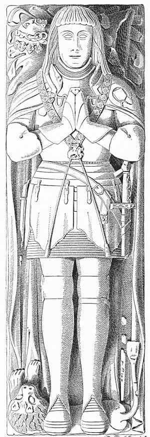 Robert Willoughby, 1st Baron Willoughby de Broke - Image: Robert Willoughby 1st Baron Willoughby de Broke Callington Church Cornwall