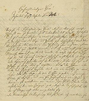 Leo Baeck Institute New York - Moses Mendelssohn papers