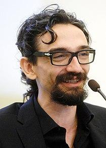Roberto Recchioni - Lucca Comics & Games 2014.JPG