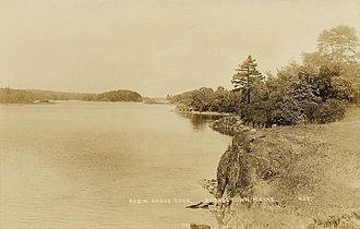 Georgetown, Maine - Robinhood Cove c. 1915