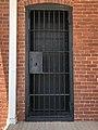 Rockdale County Jail detail of jail entrance at SE corner.jpg