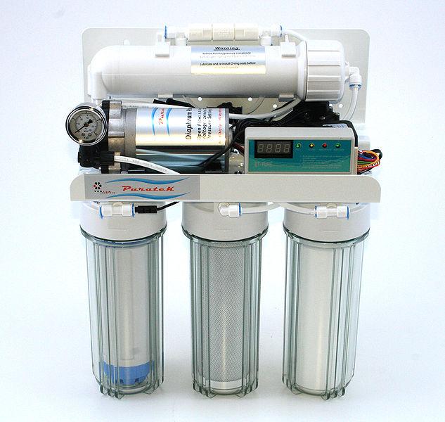 zaawansowany filtr do wody