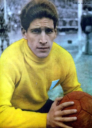 Rogelio Domínguez - Domínguez while playing for   Racing Club in 1956.