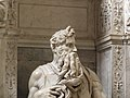 Roma, San Pietro in Vincoli, Mosè (3).jpg