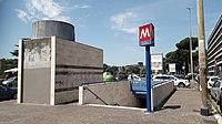 Roma Eur metro Palasport viale America.jpg