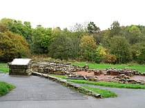 Roman Bath House by Strathclyde Loch, Lanarkshire. - geograph.org.uk - 72588.jpg