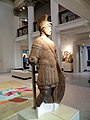 Roman statue of the God Mars, Found in Blossom Street York and dates from the early 4th century, Yorkshire Museum, York (Eboracum) (7685019184).jpg