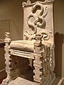 Roman throne LosAngeles County Museum California.jpg