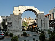 Roman triumphal arch, Damascus