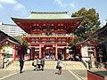 Romon of Ikuta Shrine.JPG