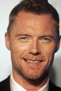 Ronan Keating Irish recording artist, singer, musician, and philanthropist