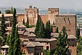 Roofs and towers of Alhambra from Generalife, Granada, Spain.jpg