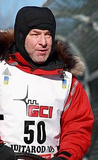 Rookie Iditarod musher Rob Loveman, a nuclear physicist from Montana (3416605285).jpg
