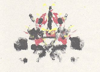 Crazy (Gnarls Barkley song) - Rorschach style inkblots such as this one made up the central motif for the visuals.