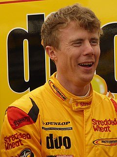 Rory Butcher British racing driver from Scotland