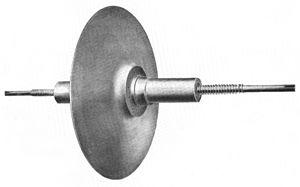 Alexanderson alternator - Rotor of 200 kW alternator