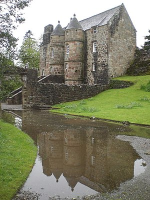 William Mure (writer) - Rowallan Castle, Sir William Mure's ancestral home in Ayrshire, Scotland.