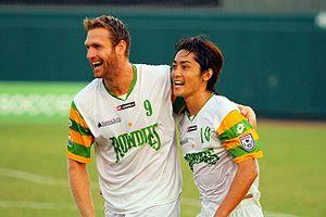 Tampa Bay Rowdies - Dan Antoniuk and Tsuyoshi Yoshitake, 2012